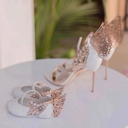 ست کفش مادر دختری