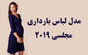 مدل لباس حاملگی شیک   لباس بارداری مجلسی ۲۰۱۹